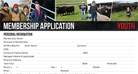 Youth Membership form CLICK HERE