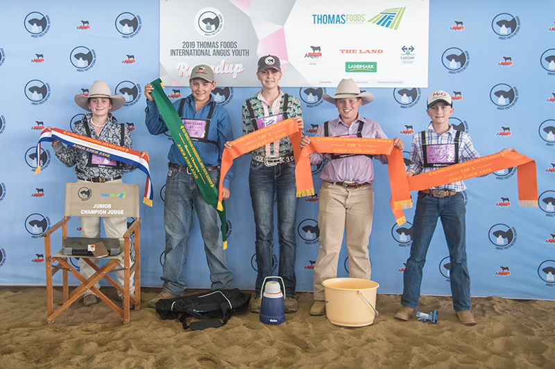 Junior Judging Place Getters
