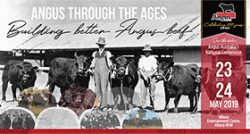 2019 Angus through the ages conference