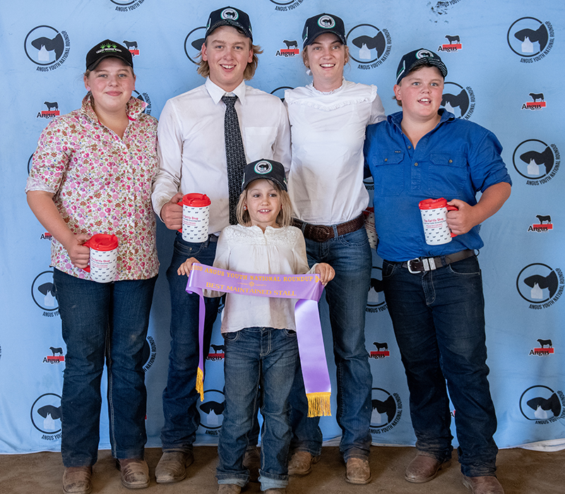 Best Maintained Stall – Bowenfels Angus