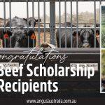 Georgia and Phoebe awarded SmartBeef Scholarships