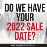 Do we have your 2022 bull sale date?
